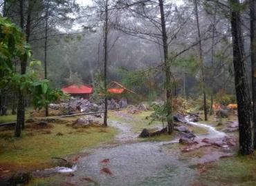 Lluvias mejoraron parajes de serranía