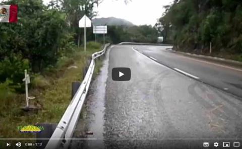 Peligrosa la carretera Valles Rioverde