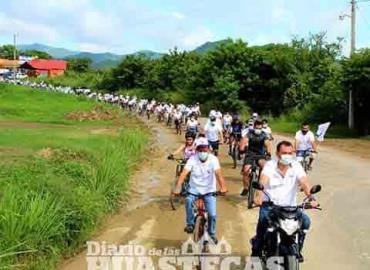 Promueven  rodada ciclista