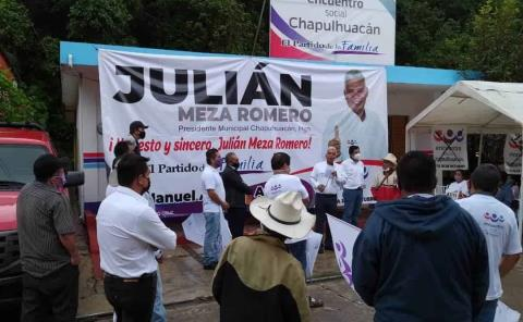 Encabeza Julián Meza candidatura social
