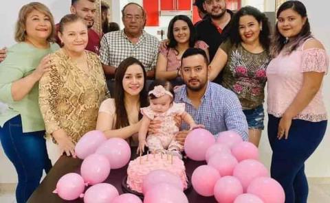 Primer aniversario de Luciana Ochoa