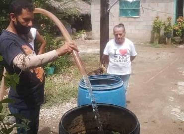 Sigue el reparto de agua a ejidos