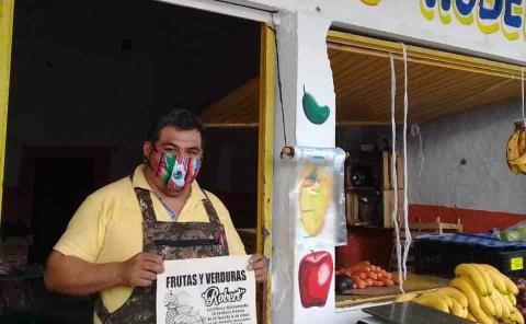 Comerciantes comenzaron campaña de sensibilización
