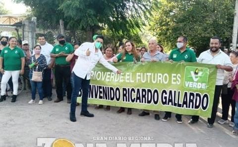 Miles en Rioverde  ingresan al Verde