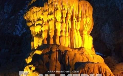 Joya turística son las grutas
