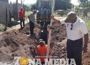 Red de drenaje instaló Sepapar
