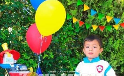 Fiesta de Paw patrol tuvo Edson Daniel
