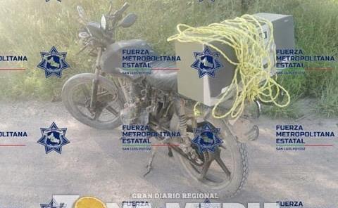 """Motociclistas traían """"cristal"""""""