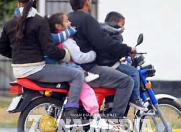 Motociclistas imprudentes