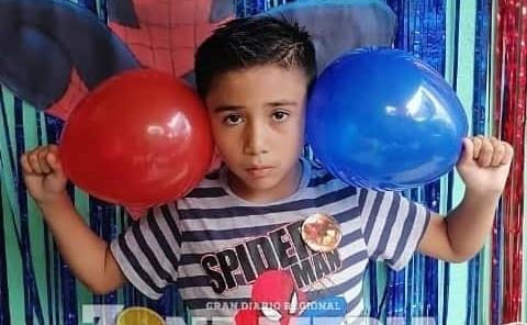 Fiesta de spider man tuvo Derian Andree