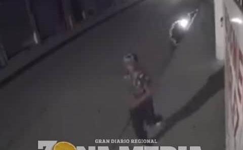 Ladrones atracan en negocio de bocinas