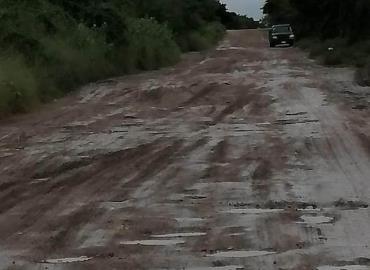 Lluvias revelan pésimas calles