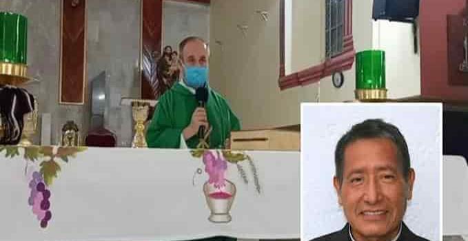Deja Padre Rafael González la parroquia de San Miguel tras 21 años de servicio