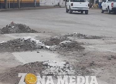 Rehabilitación en caminos dañados