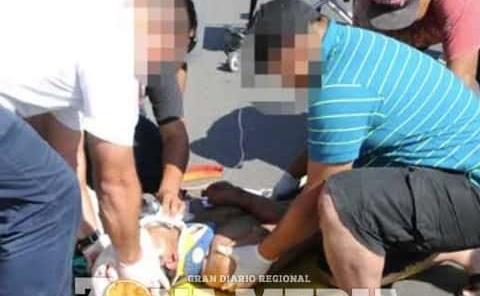 """Campesino lesionado tras accidente en """"bici"""""""