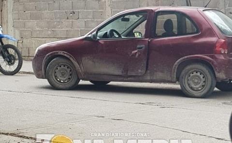 MOTOCICLISTA QUEDÓ HERIDO