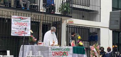 México recordó a  víctimas de sismos