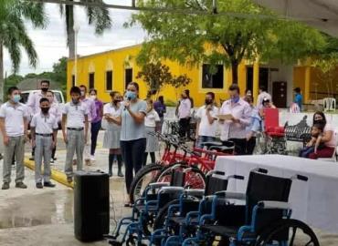 Apoyos sociales entregó el SMDIF