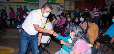 Comulgan con proyecto del candidato Sergio Meléndez