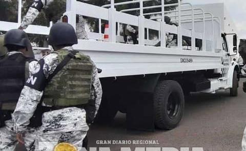 Guardia Nacional redobló vigilancia