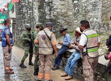 Guardia Nacional exigió cubrebocas