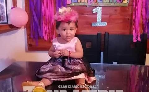 Bella lució Ivanna en su primer año