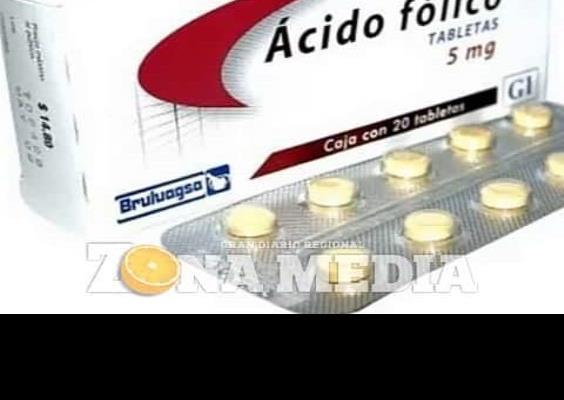 Ácido Fólico dan en clínicas