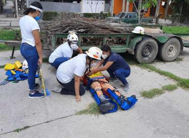 Cruz Roja Mexicana capacitó a socorristas