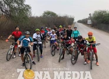 Ciclistas seguros con rondines policiacos