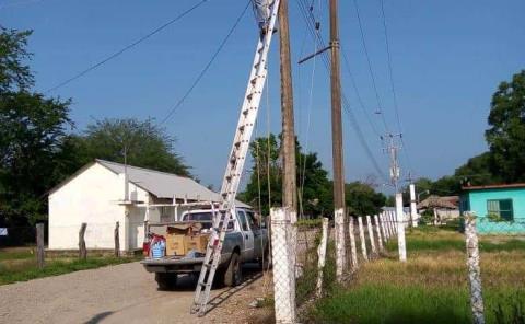 Alumbrado rural repara Municipio