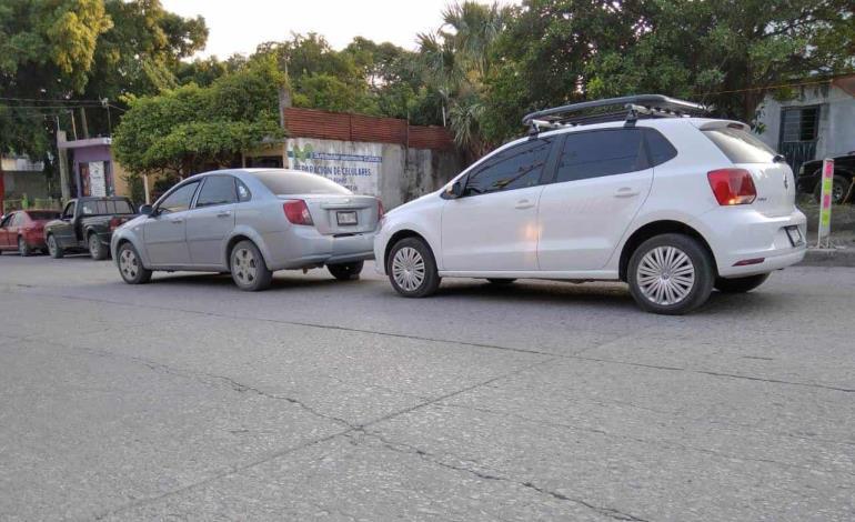 Flamante vehículo  protagonizó choque