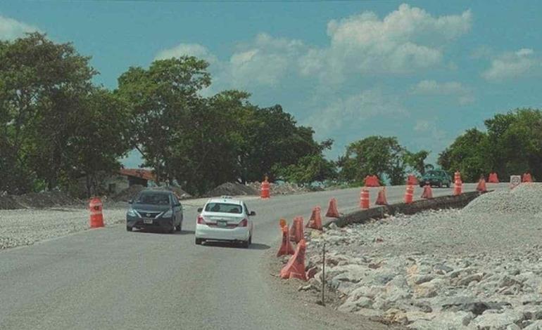 Pararán obra de carretera