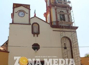 Rehabilitan iglesia de Santa Gertrudis