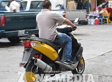 Desconcierto por motos sin placas