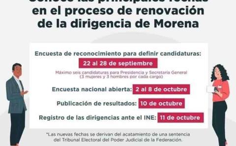 """Reñido cambio alista """"Morena"""""""