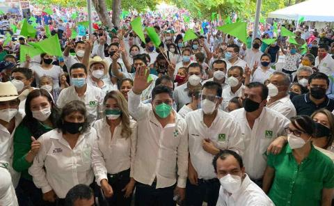 'Millón de votos busca el PVEM'