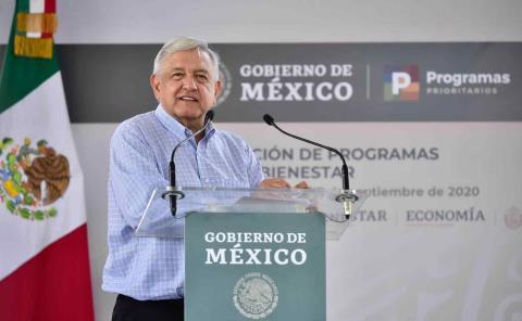 Ahorros y cero corrupción permiten funcionamiento de Programas Integrales de Bienestar: presidente