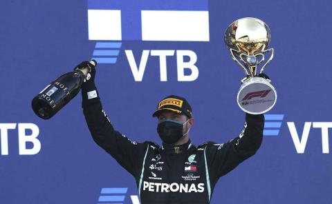 Bottas conquista el GP de Rusia