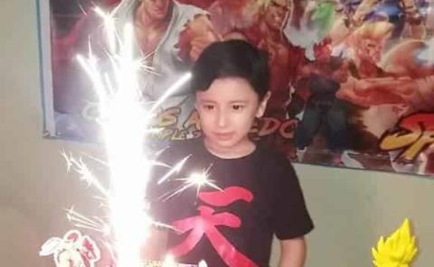 Carlos celebró a la Street Fighter
