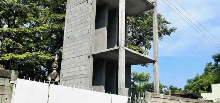 Obra de dos pisos en el Panteón Municipal