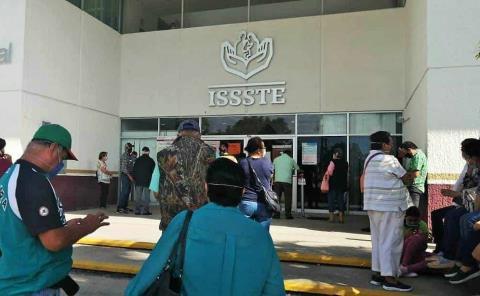 Pacientes del ISSSTE sin consultas médicas