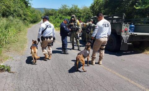 Policías reforzaron búsqueda de abuelito
