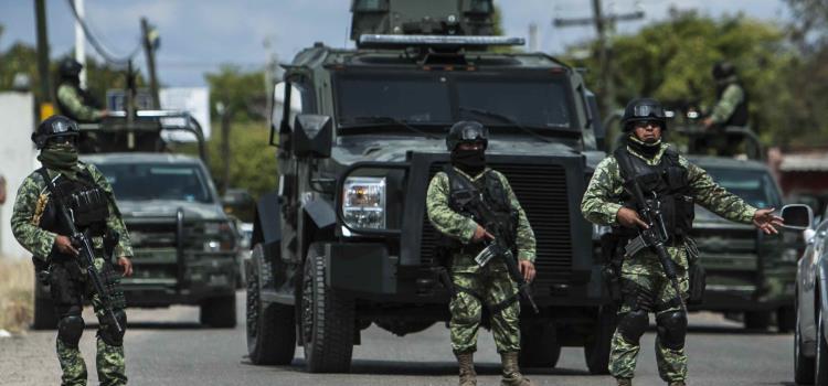 Militarizarán las calles