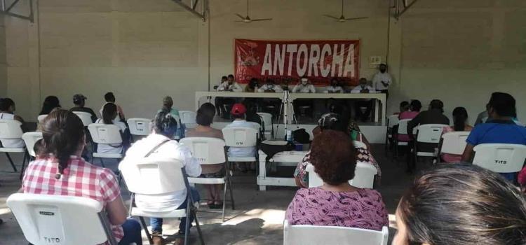 Antorcha Campesina visualiza elecciones