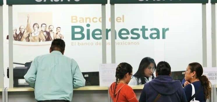 Bancos del Bienestar a principios del 2021