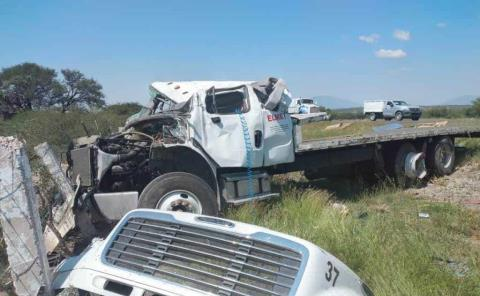 Camionero murió en fatal accidente