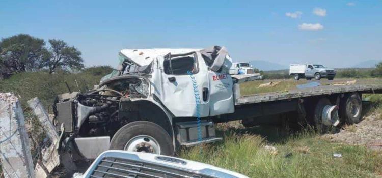 Camionero murió en fatal accidente