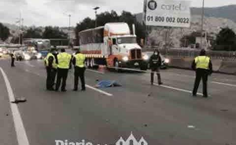 Conductor ebrio atropella y  mata a ciclista de la UNAM