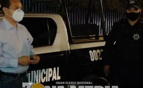 Ramón Torres G. entregó patrulla