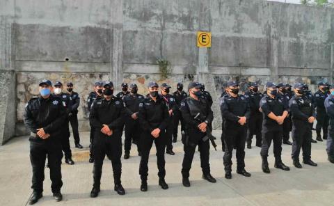En riesgo los policías